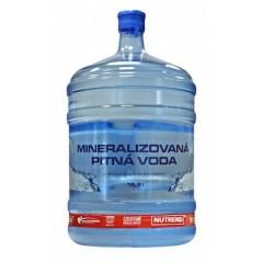 Mineralizovaná pitná voda Nutrend 18,9 l